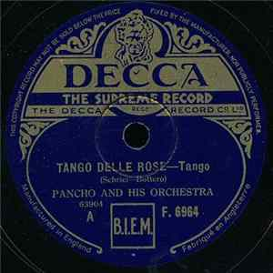 Pancho And His Orchestra - Tango Delle Rose / Por Que?